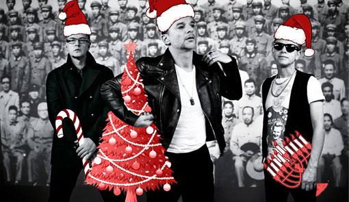Depeche Mode Happy Holidays 2013