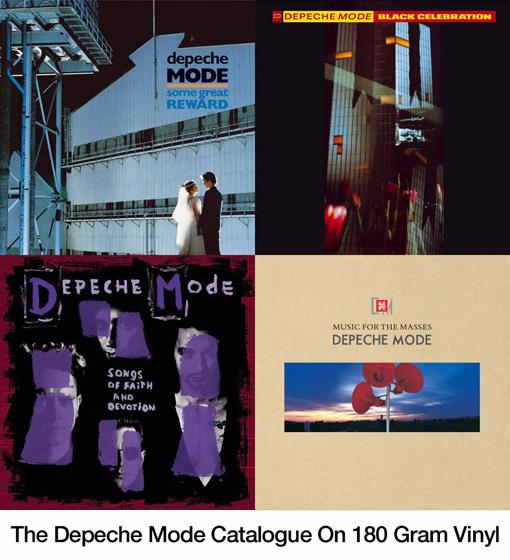 The Depeche Mode Catalogue On 180 Gram Vinyl