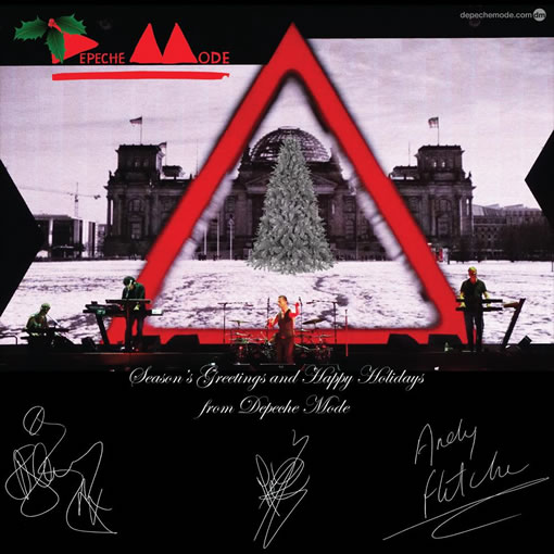 Season's Greetings and Happy Holidays From Depeche Mode