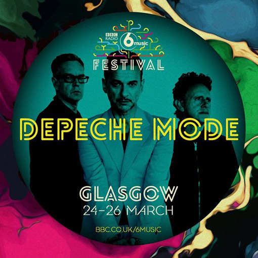 Depeche Mode BBC 6 Music Festival In Glasgow